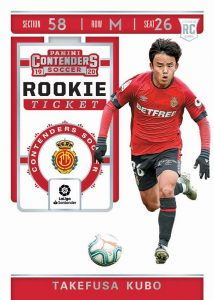 Contenders Rookie Tickets Takefusa Kubo
