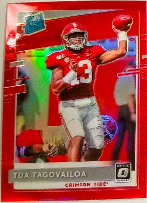 Donruss Optic Rated Rookies Draft Picks Tua Taovailoa