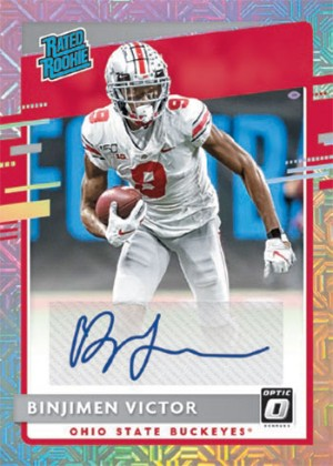 Donruss Optic Rated Rookies Signatures Binjimen Victor