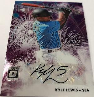 Fireworks Signatures Kyle Lewis
