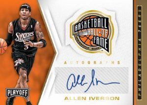 Hall of Fame Auto Allen Iverson MOCK UP