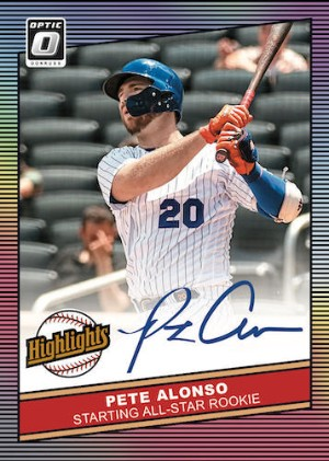 Highlights Signatures Pete Alonso