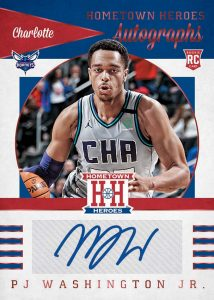 Hometown Heroes Rookie Auto PJ Washington Jr