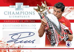 Impeccable Champions Signatures Cristiano Ronaldo MOCK UP
