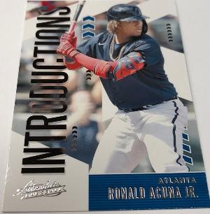 Introductions Ronald Acuna Jr