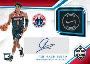 Limited Rookie Jersey Auto Premium Rui Hachimura MOCK UP