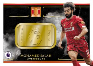 Premier League Logo Gold Mohamed Salah MOCK UP
