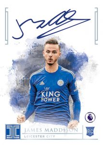Rookie Autographs James Maddison MOCK UP