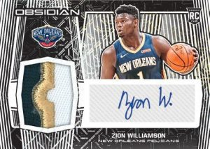 Rookie Jersey Auto Zion Williamson