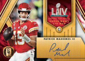 Super Bowl Diamond Signatures Patrick Mahomes II MOCK UP