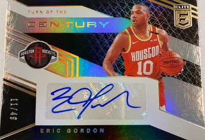 Turn of the Century Signatures Eric Gordon