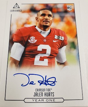 Year One Signatures Jalen Hurts