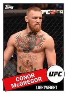 1985 Topps Connor McGregor MOCK UP