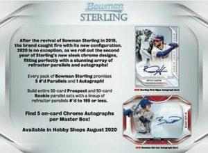 2020 Bowman Sterling Baseball
