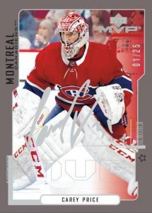 20th Anniversary First Star Carey Price MOCK UP