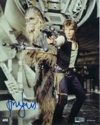8x10 Photo Auto Harrison Ford as Han Solo