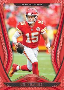 Base Red Patrick Mahomes II MOCK UP
