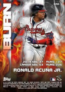 Bash and Burn Back Ronald Acuna Jr MOCK UP