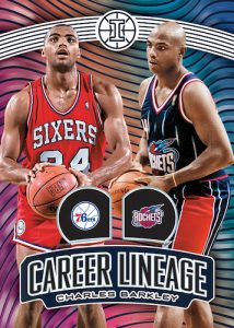Career Lineage Charles Barkley MOCK UP