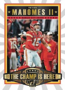 Champ is Here Patrick Mahomes II MOCK UP