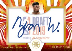 Draft Night Signatures Zion Williamson MOCK UP