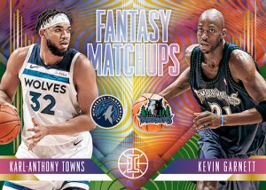 Fantasy Matchups Karl-Anthony Towns, Kevin Garnett MOCK UP