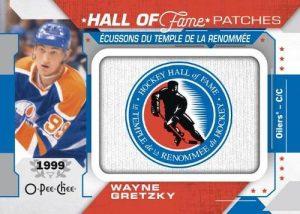 HOF Logo Patches Wayne Gretzky MOCK UP