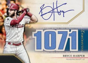 Hit Kings Autograph Relics Bryce Harper MOCK UP
