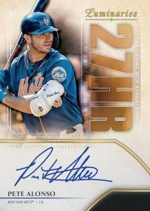 Home Run Kings Auto Pete Alonso MOCK UP