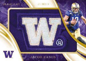 Immaculate Jumbos Jacob Eason MOCK UP