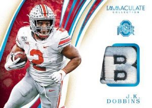 Immaculate Patches Logo JK Dobbins MOCK UP