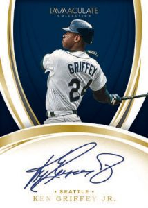 Immaculate Signatures Ken Griffey Jr MOCK UP