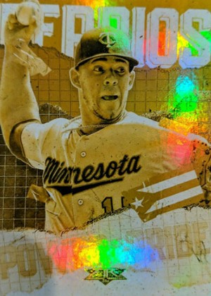 Power and Pride Gold Minted Jose Berrios MOCK UP
