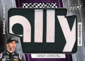 Prime Jumbo Relics Jimmie Johnson MOCK UP