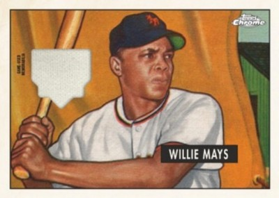 Retro Rookie Chrome Relics Willie Mays MOCK UP