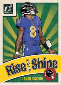 Rise 'N Shine Magnet Lamar Jackson MOCK UP