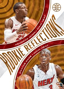 Rookie Refractions Kendrick Nunn, Dwayne Wade MOCK UP