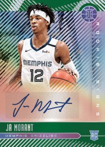 Rookie Signs Emerald Ja Morant MOCK UP