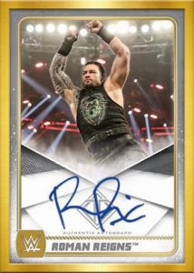 Roster Auto Roman Reigns