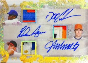 Signature Swatches 6 Front Dwight Gordon, Nolan Ryan, John Smoltz