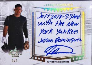 Signatures Jasson Dominguez