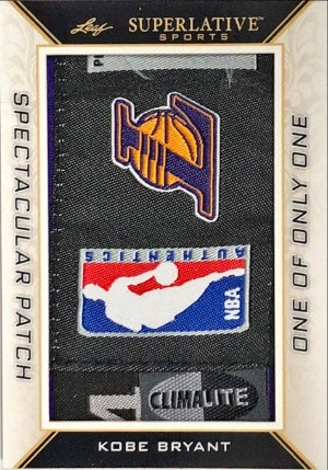Spectacular Patches Kobe Bryant
