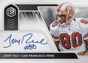 Steel Signatures Jerry Rice MOCK UP