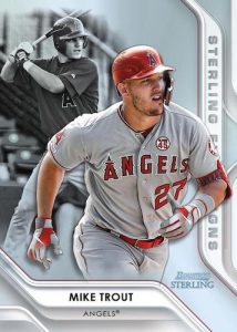 Sterling First Signs Mike Trout MOCK UP