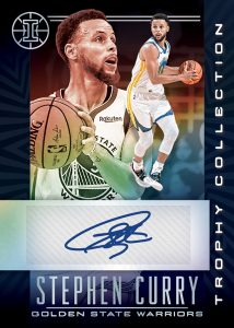 Trophy Collections Signatures Stephen Curry MOCK UP