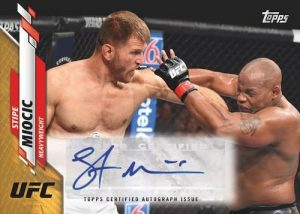 UFC Athlete Auto Stipe Miocic MOCK UP