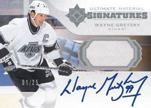 Ultimate Material Signatures Wayne Gretzky MOCK UP