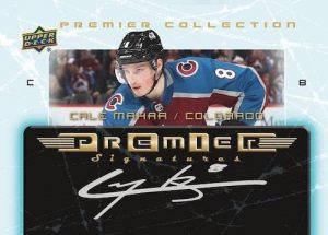 2003-04 Premier Collection Retro Plexi Auto Cale Makar MOCK UP