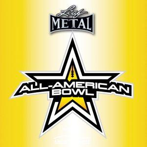 2020 Leaf Metal All-American Football