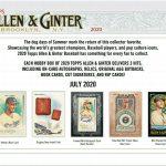 2020 Topps Allen & Ginter Baseball